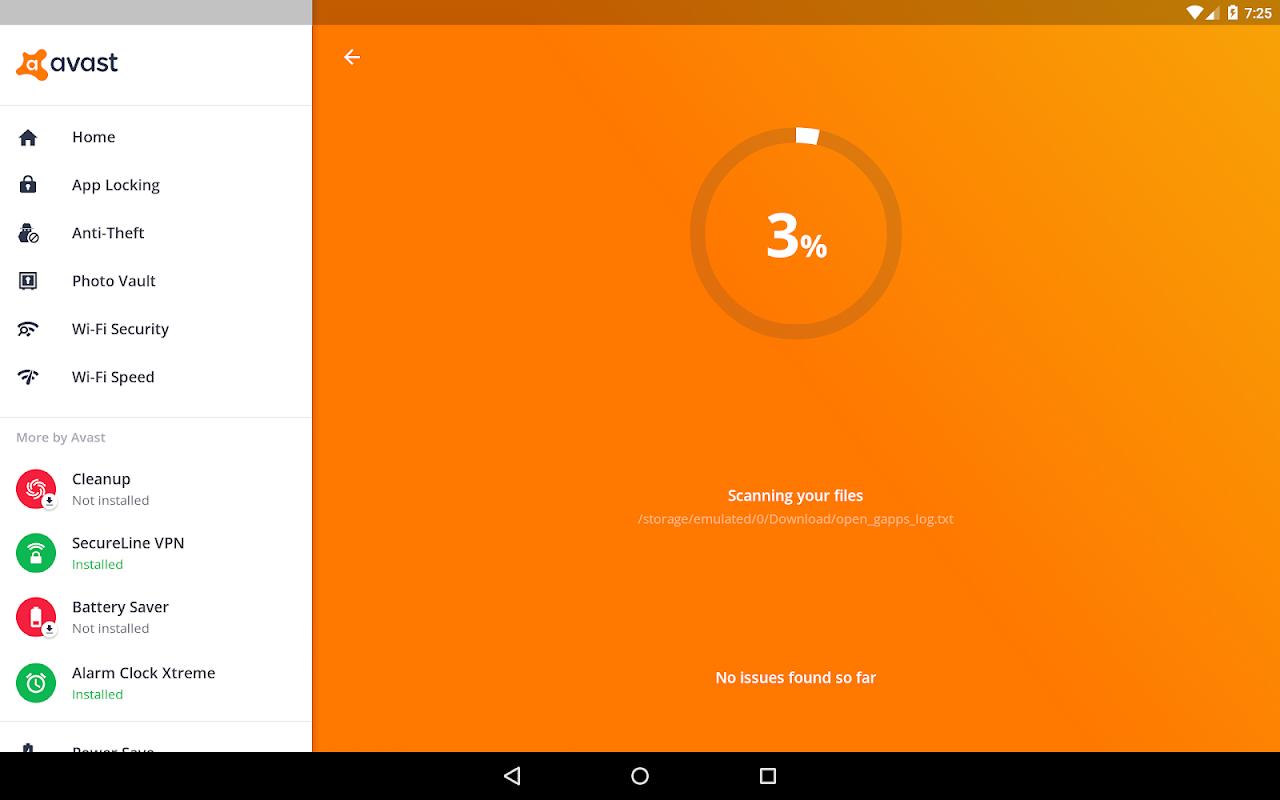 Avast Antivirus – Mobile Security & Virus Cleaner screenshots