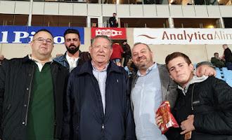 El Almería-Deportivo, desde la grada