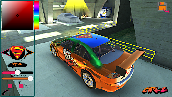 Lancer Evo Drift Simulator- screenshot thumbnail
