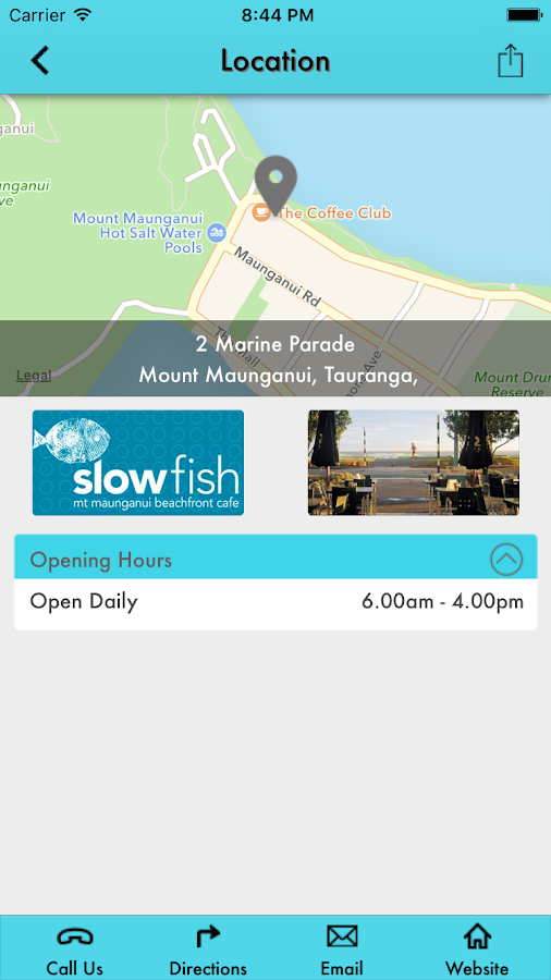 SlowFish Cafe- screenshot