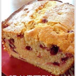 Cranberry Eggnog Bread