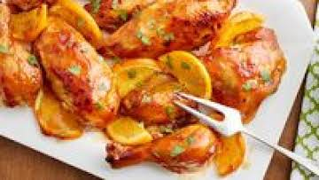 Slow-Cooker Whole Orange Chicken