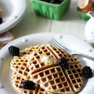 Birthday Waffles {Grain free, gluten free, nut free}