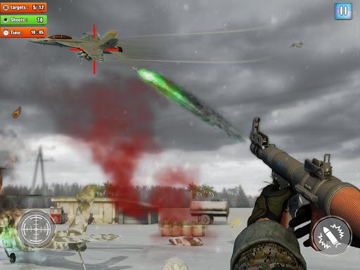 Jet Sky War Fighter 2019: Airplane Shooting Combat apktram screenshots 6