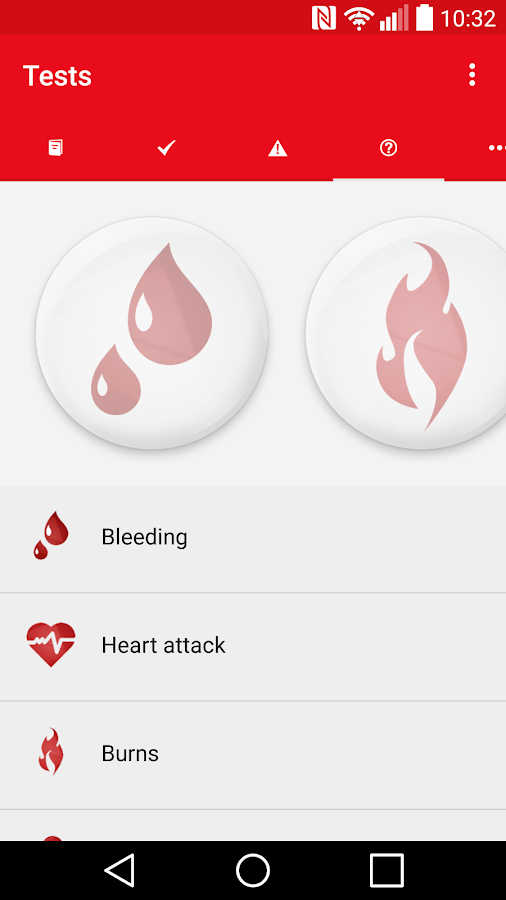 First Aid - Canadian Red Cross- screenshot
