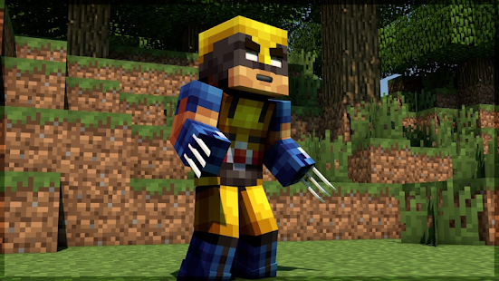 Mod Wolverine 2018 for MCPE - náhled