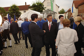 Photo: Vor der Kirchenparade