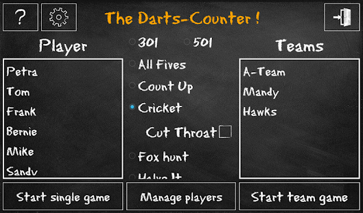 Darts-Counter - náhled