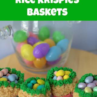 Rice Krispies Baskets