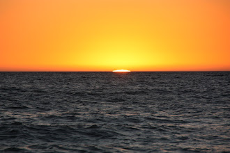 Photo: Year 2 Day 222 - Sun Slipping Away on West Beach in Adelaide