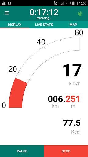 Bike Computer - GPS Cycling Tracker 2.8 screenshots 1