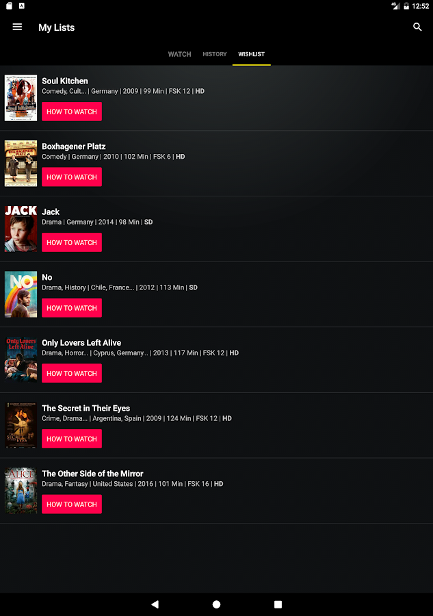 Pantaflix: Full Movies in HD- screenshot