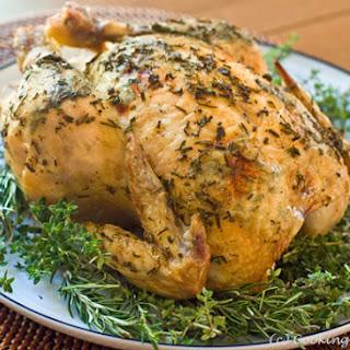 Herb-Crusted Roast Chicken