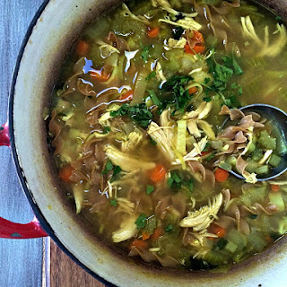 Flu Season Chicken Noodle Soup