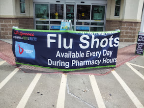 Photo: Flu Shots everyday. I will be going back for mine. The price is only $31.99 out of pocket OR $25.59 for Prescription Savings Club Members.