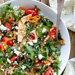 Summer Israeli Couscous Salad.