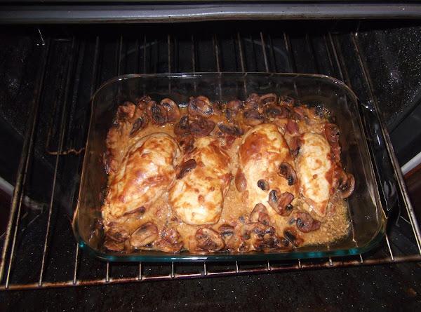 Dijon Mushroom Chicken Recipe