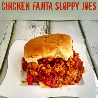 Chicken Fajita Sloppy Joes.