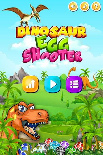 Dinosaur egg shooter