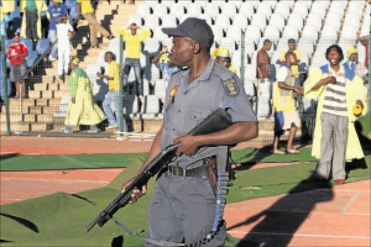 A firearm has gone missing form a Pretoria police station.
