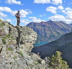Photo: Jason on a ledge