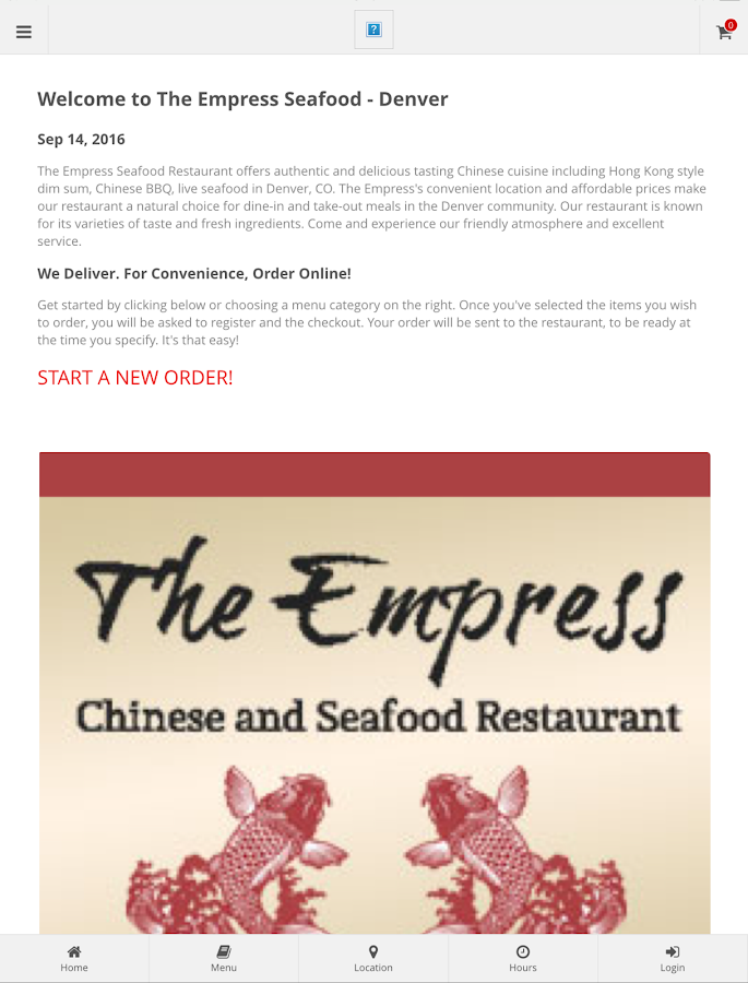 Empress Seafood Denver- screenshot