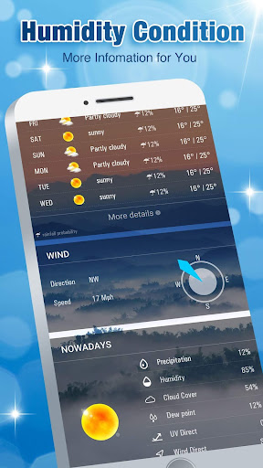 Screenshot for Accurate Weather Forecast App & Radar in United States Play Store