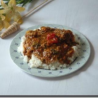 Gambian Okra Stew  Recipe - 'Superkanja'