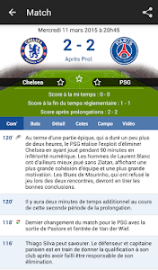 Résultats Foot en Direct screenshot 2