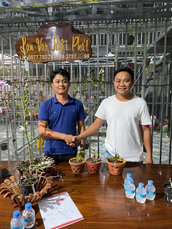 Nghệ nhân Trịnh Tuân – Bén duyên với lan bằng đam mê - Ảnh 1