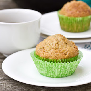 Applesauce Muffins with Pear