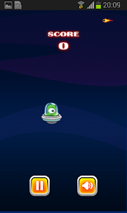 Flappy Ovni Screenshot