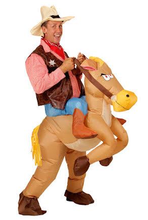 Dräkt, Uppblåsbar cowboy