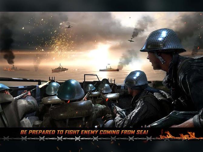 WW2 Survival War Prisoner : FPS Shooting Game Android 9