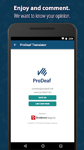 ProDeaf Translator- screenshot thumbnail