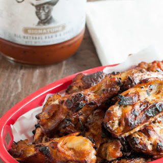 Baked BBQ Chicken Wings.