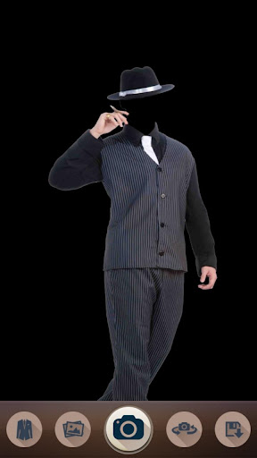 Gangster Fashion Photo Suit