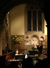 Photo: Bethan James & Lucy Beveridge © The Priston Festival 2009, photo: Richard Bottle