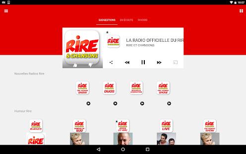 Rire & Chansons Radio Screenshot 9
