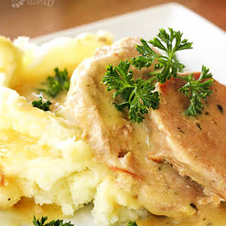 Easy Crock-Pot Pork Chops.