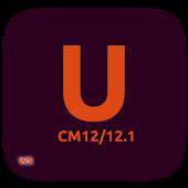 CM12/12.1 Ubuntu Dark Theme