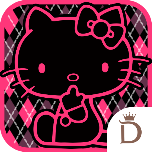 个人化のKawaii Widget Hello Kitty Cool LOGO-記事Game