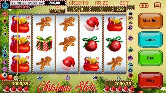 Christmas Slots - náhled
