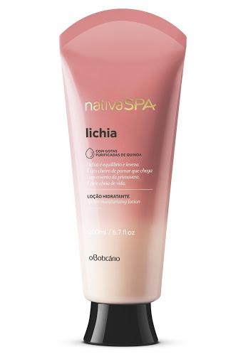 crema corporal nativa spa hidratante lichia 200ml
