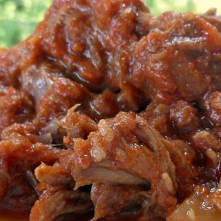 Barbeque Shredded Beef.