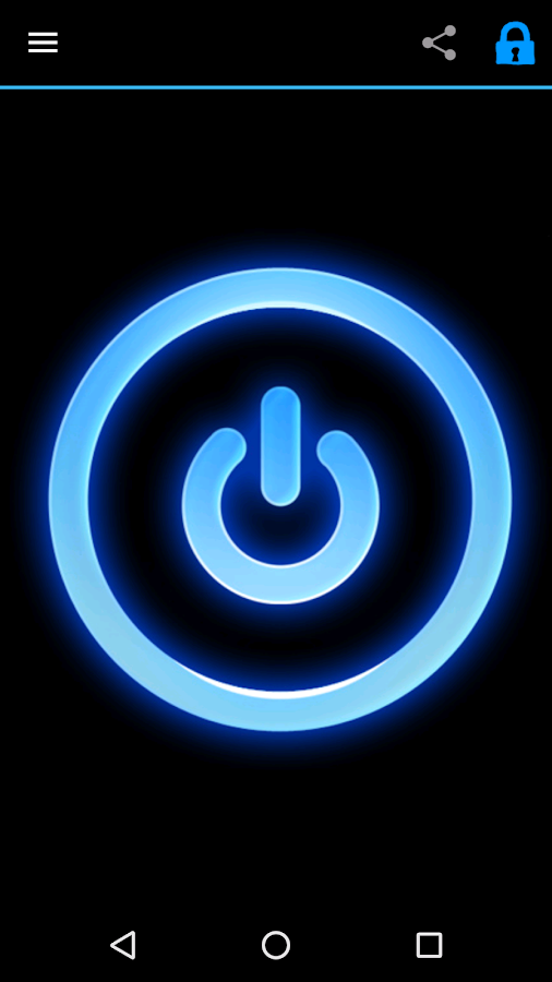 Led Flashlight (+widget)- screenshot