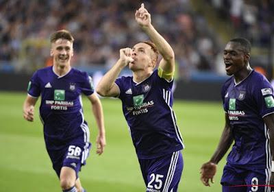Adidas réagit au changement d'équipementier à Anderlecht