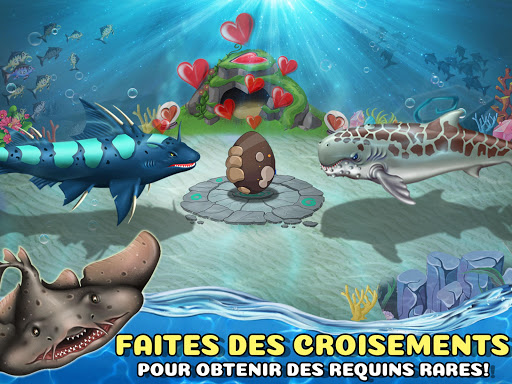 Code Triche Shark World APK MOD screenshots 4