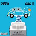 ELM327 OBD2 OBDit error codes diagnostic - spanish icon