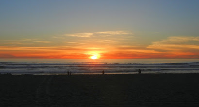 Photo: Sunset on Pacific Beach